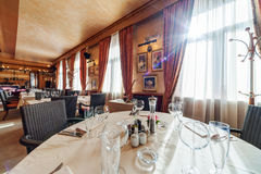 Hotel restaurant Royalty Free Stock Images