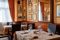 Hotel restaurant Stock Images