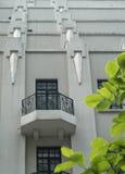 Hotel of Retro Style Stock Photography