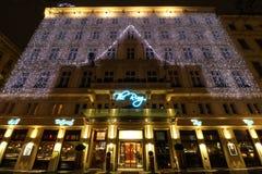 Hotel Ring Vienna Imagen de archivo libre de regalías