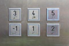 Hotel, ristorante, elevatore Fotografia Stock
