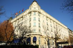 Hotel Ritz in Madrid, Spain Stock Photo