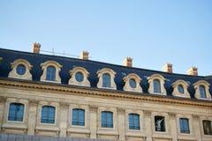 Hotel Ritz Paris sob a construção Foto de Stock