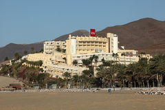 Hotel RIU em Morro Jable, Fuerteventura Foto de Stock