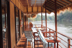 Hotel on the river Kwai Royalty Free Stock Photos