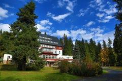 Hotel Rixi, Zelezna Ruda, Boemerwald, Sumava Czech Republic Royalty Free Stock Image