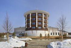 Hotel Rixos Borovoe in National Park Burabay Stock Images