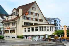 Hotel Roessli Beckenried Stockfotos