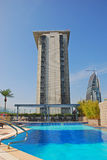 Hotel Rooftop Swimming Pool Royalty Free Stock Photo