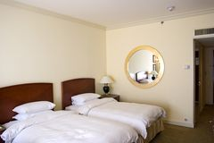 Hotel room. Business Hotel room royalty free stock photography