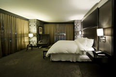 Hotel room. Nice hotel room in a 4 star casino / hotel Royalty Free Stock Photo