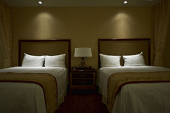 Hotel room. Nice hotel room in a 4 star casino / hotel Royalty Free Stock Image