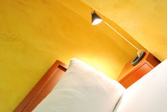 Hotel room. Details with lamp in hotel room Stock Photography