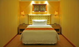 Hotel room. Interior of a luxury hotel room in china stock image