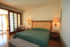 Hotel Room. Interior of a luxurious hotel Room Royalty Free Stock Images