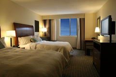 hotel room Στοκ Φωτογραφίες