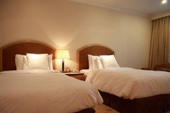 Hotel room or bedroom Royalty Free Stock Images