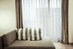 Hotel room or bedroom Interior. Royalty Free Stock Photo