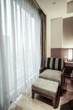 Hotel room or bedroom Interior. Royalty Free Stock Photos