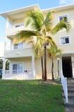 Hotel room block in caribbean Stock Images