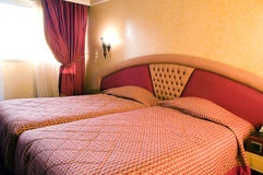 Hotel room casablanca morocco Royalty Free Stock Photography