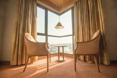 Hotel room corner Royalty Free Stock Image