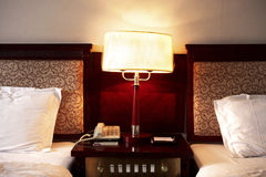 Hotel room details Royalty Free Stock Photography