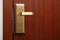 Hotel room door Stock Images