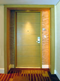 Hotel room door Royalty Free Stock Photo