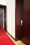 Hotel room door Royalty Free Stock Photography