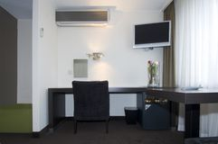 Hotel room interior Stock Images