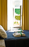 Hotel room interior Stock Image