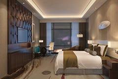 Hotel Room Interior Royalty Free Stock Image