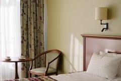 Hotel room interiors Royalty Free Stock Photos