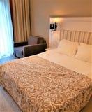 Hotel room in Kemer, Mediterranean sea, Turkey royalty free stock photo