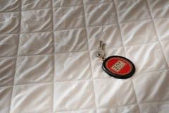 Hotel Room key Stock Photography