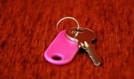 Hotel room keys Royalty Free Stock Image