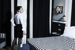 Hotel room life Stock Photo