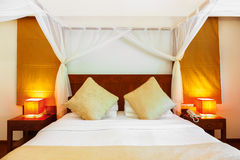 Hotel room at Maldives Royalty Free Stock Image