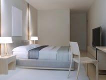 Hotel room minimalist style Stock Photography
