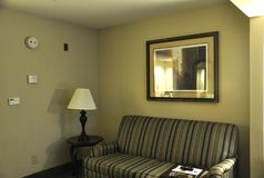 Hotel Room with modern interior Stock Images