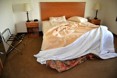 Hotel room in the morning Royalty Free Stock Photography