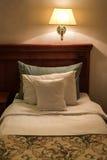 Hotel room at night Royalty Free Stock Photo