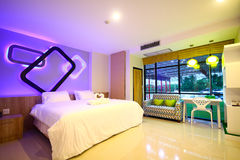 Hotel room at Phitsanulok province Thailand Stock Photography
