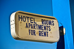 Hotel room for rent in the  Peloponese in greece Stock Images