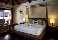 Hotel room in a resort in Thailand Royalty Free Stock Photo