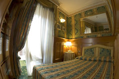 Hotel room rome, italy royalty free stock photography