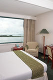 Hotel room sea view Royalty Free Stock Photography