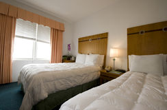 Hotel room south beach miami florida Royalty Free Stock Image