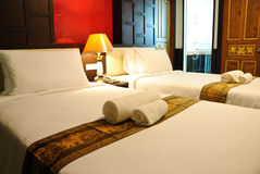 Hotel room in Thailand Stock Image